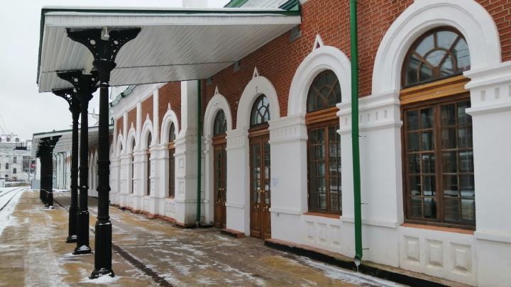 На вокзале Пермь I открыли зал ожидания для пассажиров