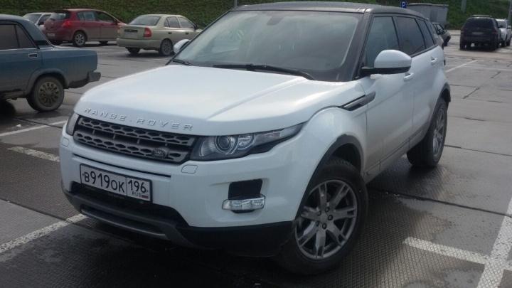 У екатеринбуржца дважды угнали один и тот же Range Rover