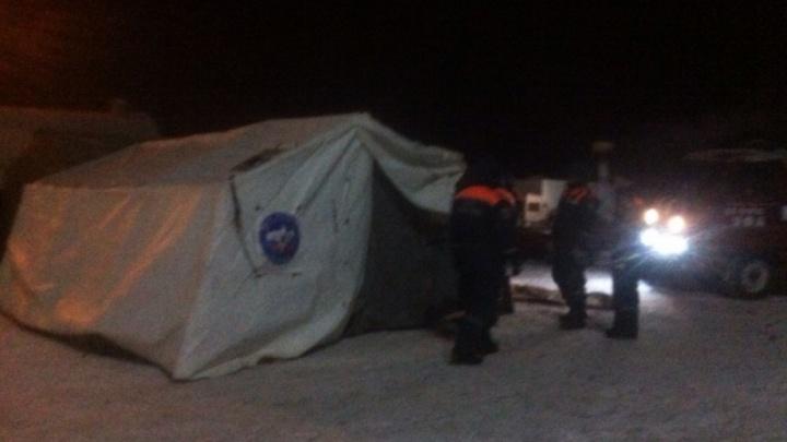 На трассе в Башкирии для водителей устроили пункт обогрева