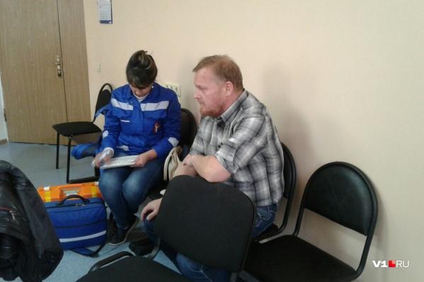 На госпитализации настояли врачи скорой помощи