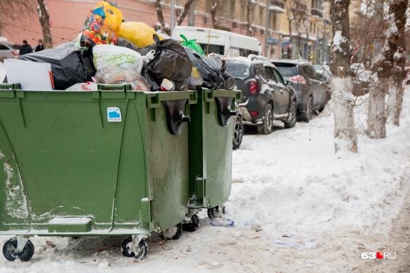 Регоператор предложил взвешивать мусор