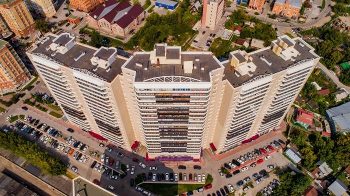 Большие квартиры в центре от 55 тысяч рублей за «квадрат»