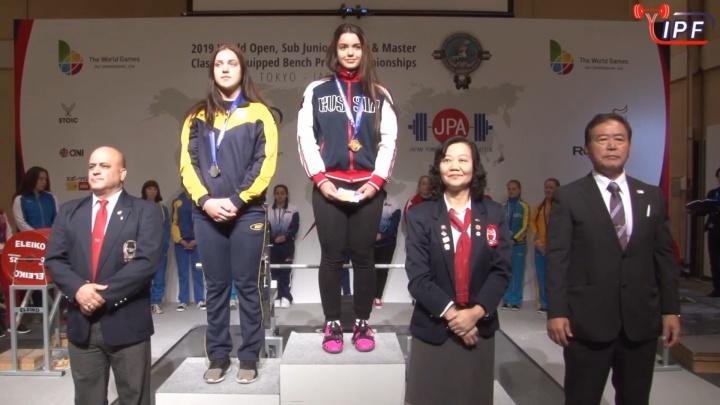 Поморская спортсменка взяла золото на первенстве мира по пауэрлифтингу и установила мировой рекорд