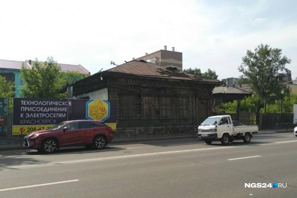 Дом Потехина со стороны Вейнбаума