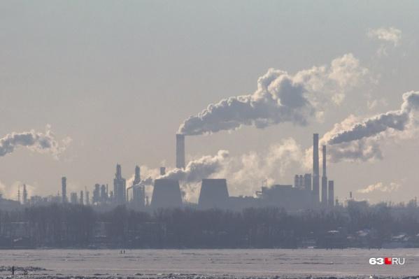 Жалобы на загрязнение воздуха поступили от жителей Куйбышевского района