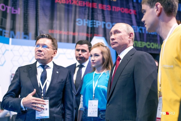 Президент России Владимир Путин уже бывал в Ярославле на форуме «ПроеКТОрия»