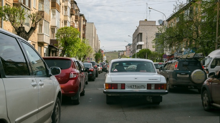 Улицы тонут в пробках