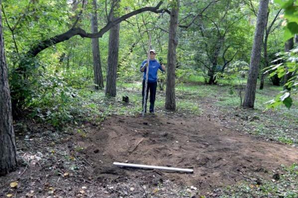 В Зеленой Роще прошли археологические раскопки