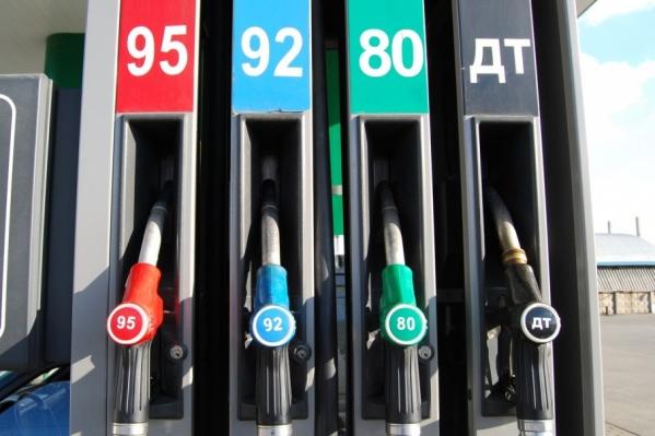 Бензин дорожает в России в среднем на 2 рубля за литр в год