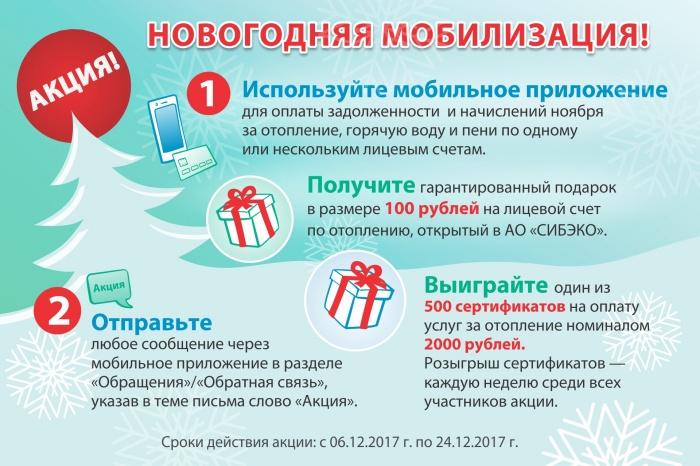 АО «СИБЭКО» объявило о новогодней мобилизации