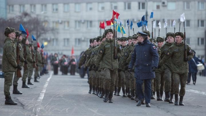 Центр Челябинска перекроют из-за репетиции парада Победы