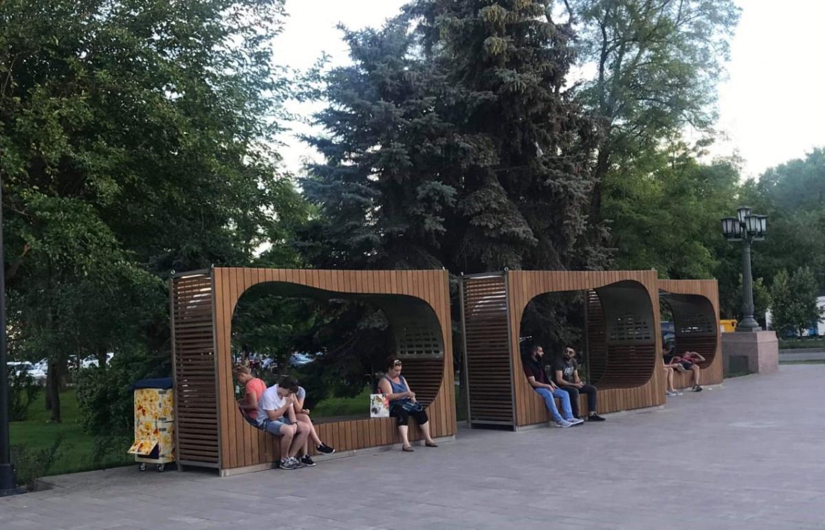 Набережная в Волгограде