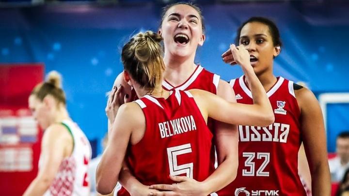 Российские баскетболистки обыграли команду Белоруссии и вырвались в плей-офф Евробаскета