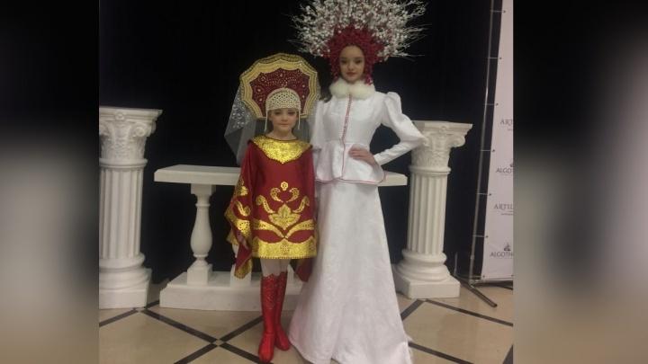 Юные модели вернулись в Красноярск с победой в конкурсе «Мини Мисс Россия 2018»