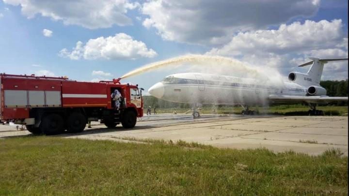 «Пожар локализовали за 7 минут»: нижегородский аэропорт подготовился к аварийной посадке самолета