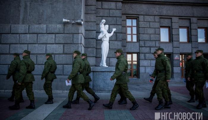 В Новосибирской области призовут 15 безупречных молодых людей на службу в Президентский полк