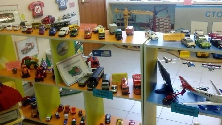 «От велосипеда до ракеты»: в детском саду открыли музей транспорта