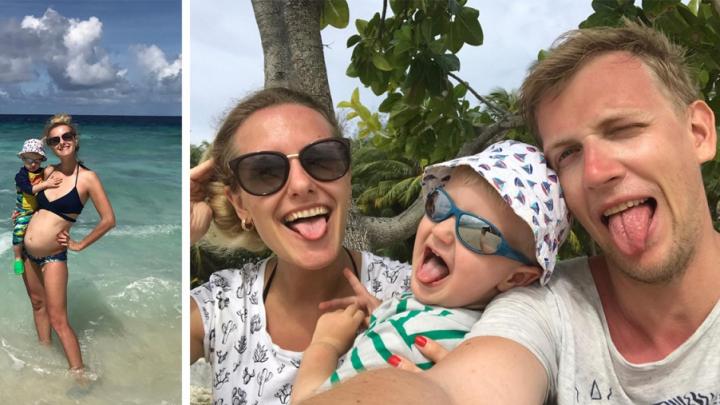 Бизнес в отпуске: семья сибиряков путешествует с грудным ребёнком — в тропиках они открыли своё дело