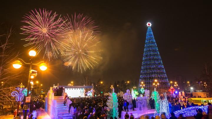 Два масштабных новогодних фейерверка готовят в Красноярске