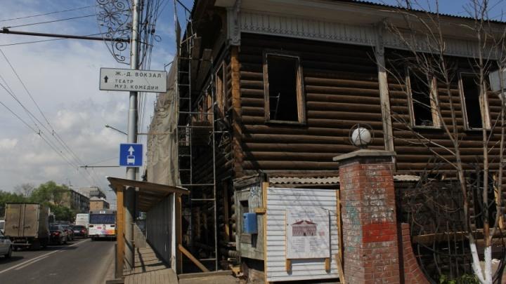 Рабочие показали место в доме на Ленина, где нашли клад