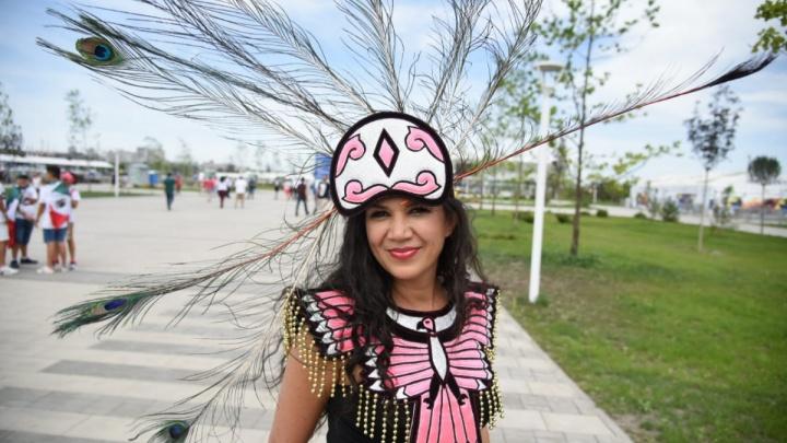Мексиканские болельщики устроили карнавал на ростовских улицах