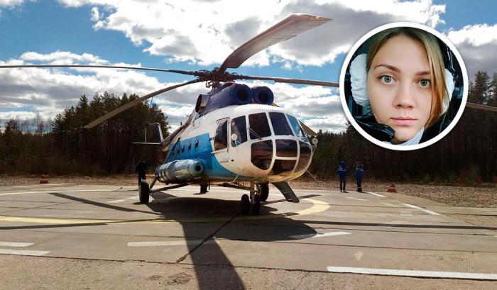 23-летняя Татьяна —второй пилот «Ми-8»