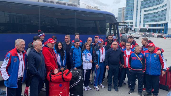 В Екатеринбург приехала сборная России по боксу