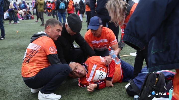 Помощь оказал министр: появилась первая информация о мужчине, которому стало плохо во время марафона