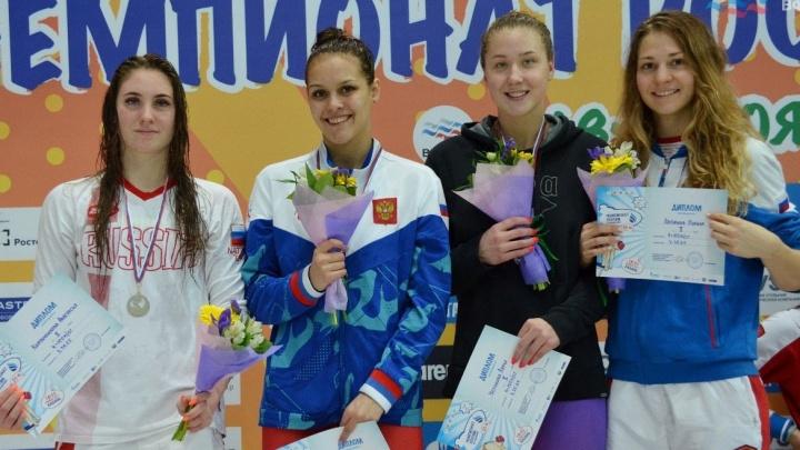 Уральские пловчихи взяли медали на Кубке Сальникова в Санкт-Петербурге