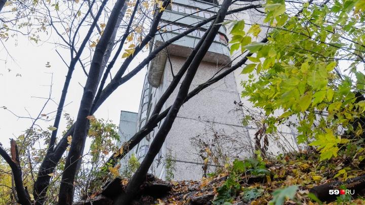По стенам идут трещины. Жители аварийной девятиэтажки на краю лога на Шатрова опасаются обрушения