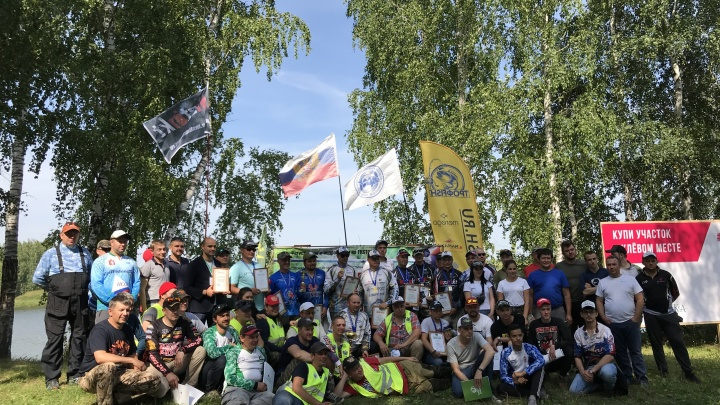 Участники рыболовного турнира, прошедшего в новом коттеджном посёлке Малиновка, получили 40 000