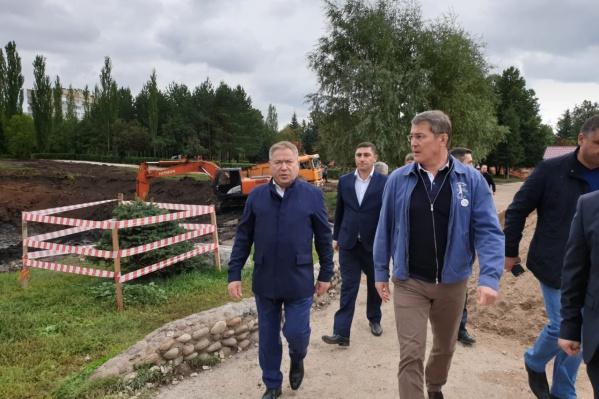 По мнению Радия Хабирова, строящиеся парки зададут для республики новый стандарт качества