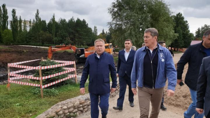 «Мы зададим новый стандарт качества»: Радий Хабиров рассказал, какие парки в Уфе приведут в порядок