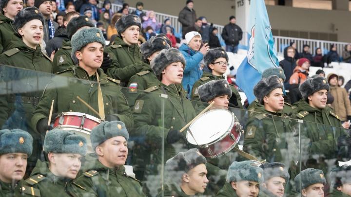 Волгоградские болельщики — самые многочисленные в ФНЛ: лучшие фото со стадиона