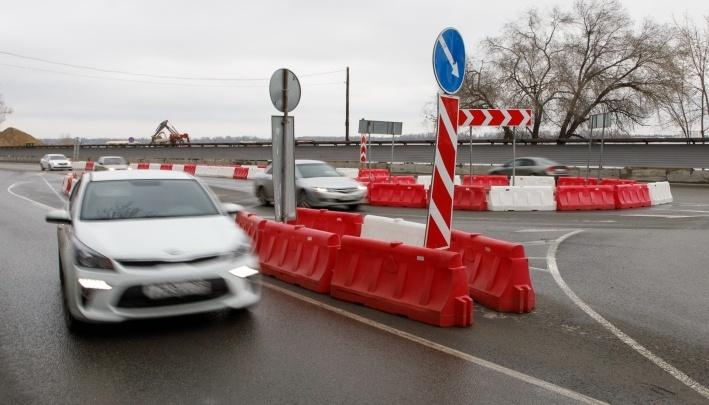 «Многолепестковая ромашка»: на Нулевой Продольной Волгограда поменяли схему движения автотранспорта