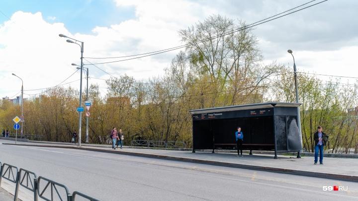 В Перми установят 12 новых остановок и отремонтируют восемь старых. Где они находятся?