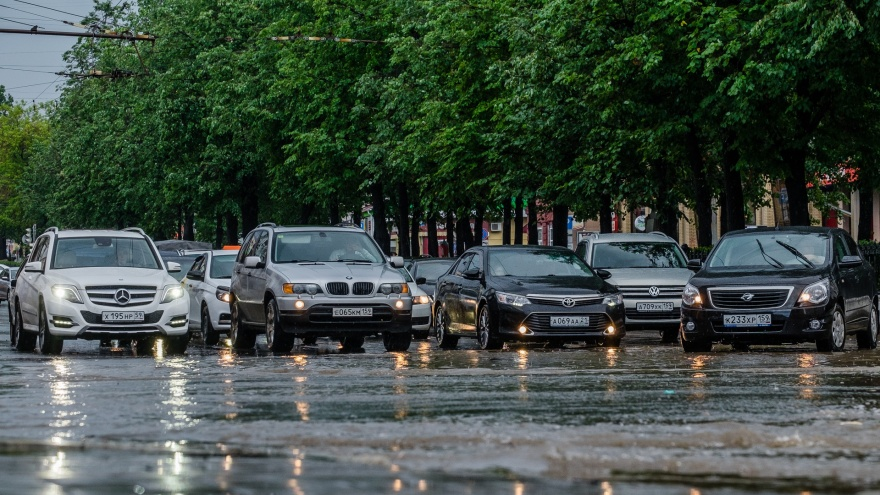 Ливни и грозы. Публикуем прогноз погоды в Прикамье на выходные