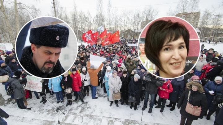 Полиция составила протокол на одного из организаторов антимусорного митинга в Архангельске