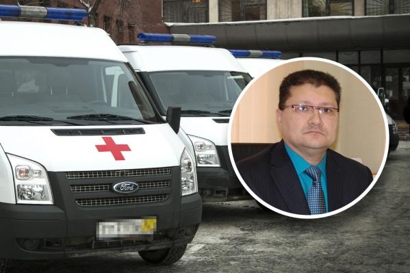 Руководителю скорой помощи Магнитогорска Александру Шумкову после зарплатного скандала решили объявить выговор