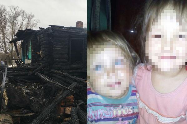 Погибшей девочке было восемь лет, мальчику — два года. Их шестилетняя сестра чудом избежала гибели