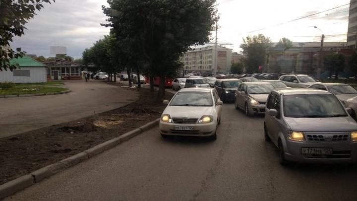 «Выделенка» остановила Красноярск