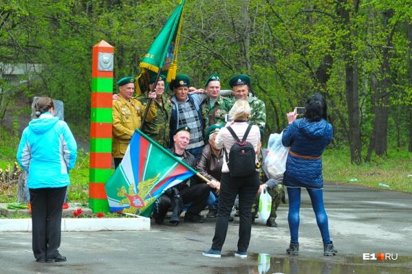 Официально День пограничника в Екатеринбурге будут отмечать 25 августа