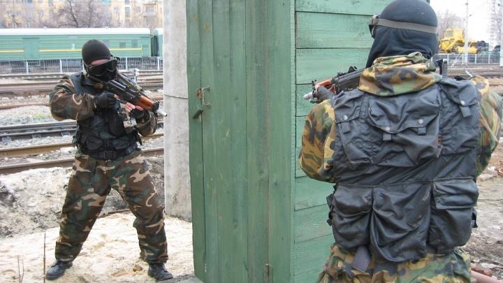 В Волгограде ликвидируют условных террористов