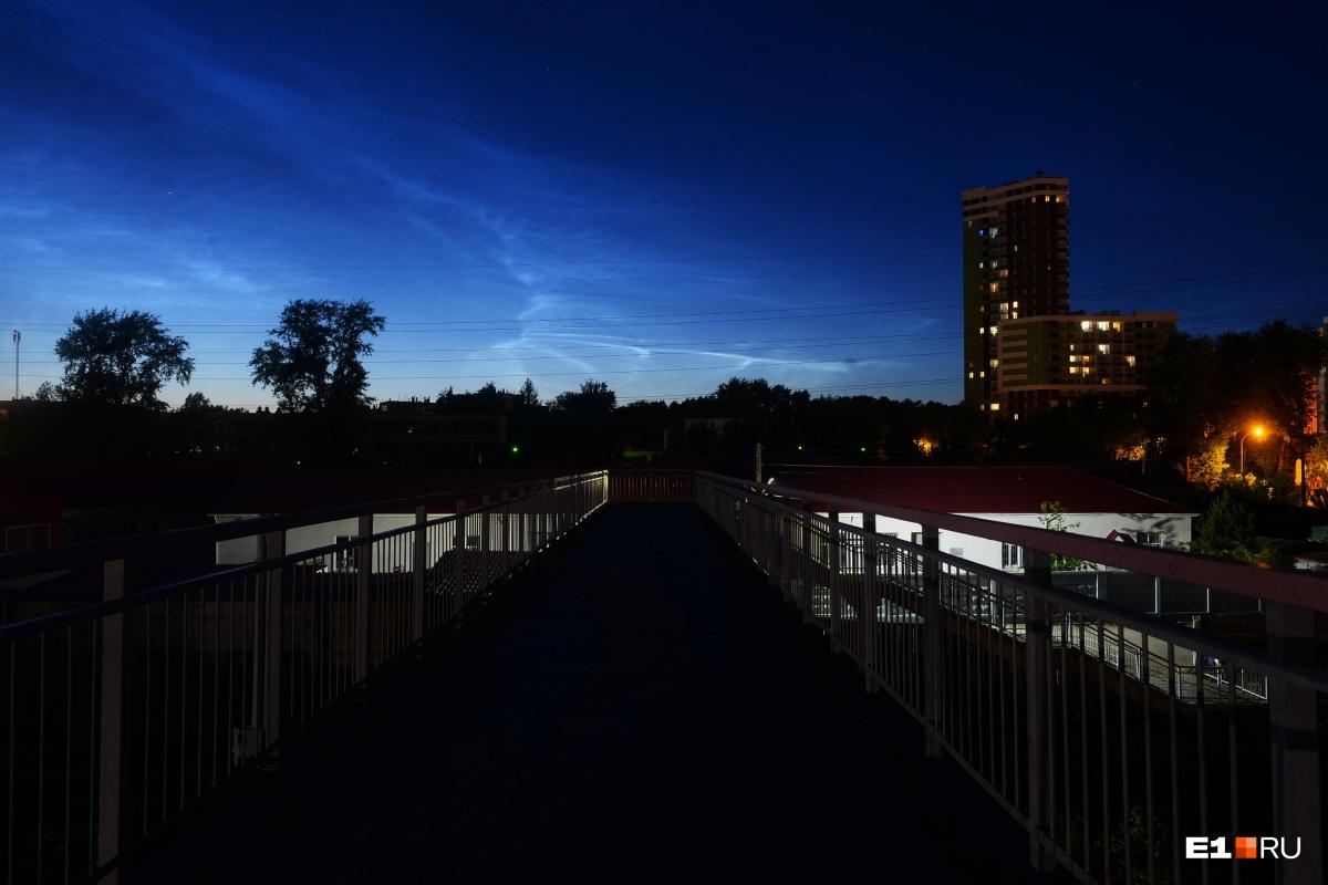 Вид с железнодорожной станции Шарташ