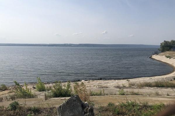 Место будущей стройки — берег Волги в Шигонском районе
