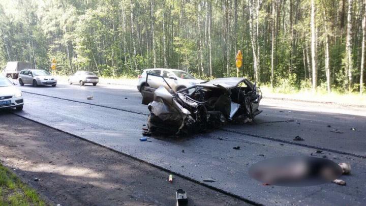 Один из участников серьёзного ДТП в Лесных полянах был лишён водительских прав