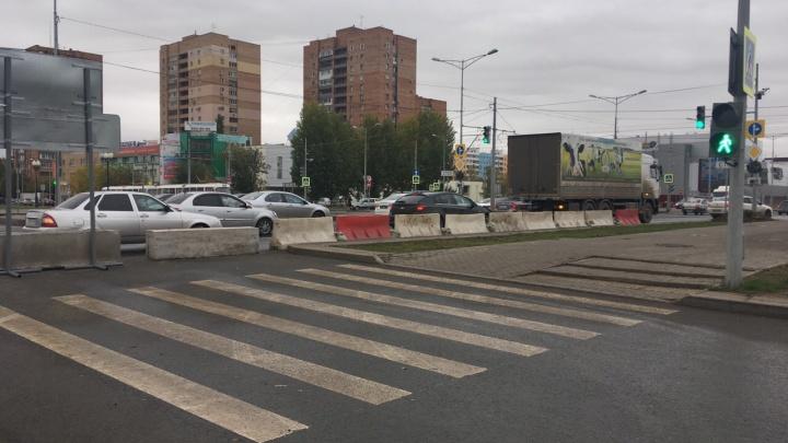 Придётся потерпеть: в Самаре перекрыли Ташкентскую