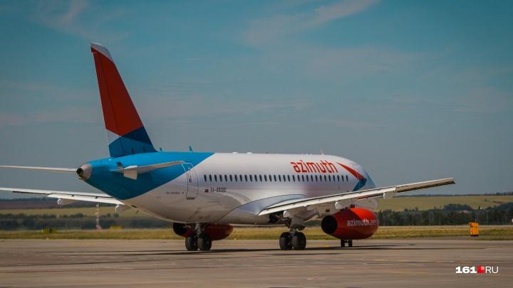 В Новосибирске задержали рейс до Ростова на «Суперджете»