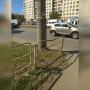 «Это наплевательское отношение к горожанам»: в Челябинске покрасили погнутое ограждение