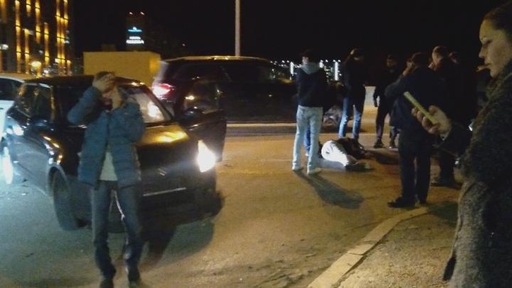 Лишенец на Suzuki сбил пешехода, перебегавшего через тюменскую объездную